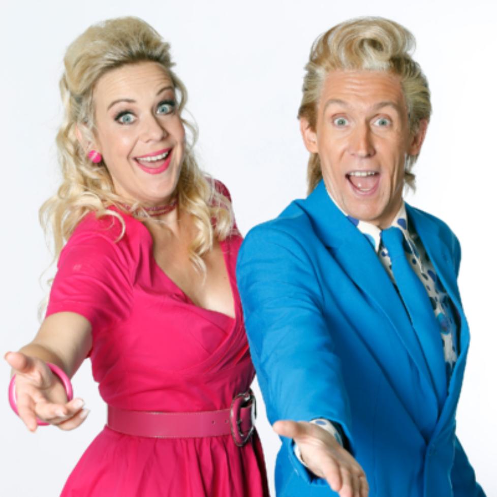 Shirley en Benny show